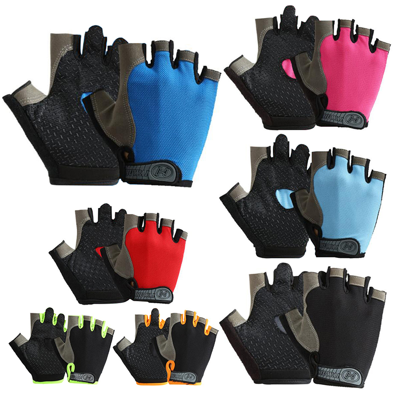 Intelligent Anti-slip Half Finger Cycling Gloves Breathable Anti-shock Sports Gloves Mtb Road Motorcycle Bike Bicycle Gloves For Men Women Orders Are Welcome.