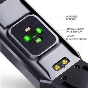 Image 5 - Металлический Чехол, смарт браслет, фитнес трекер, часы, мониторинг сердечного ритма, артериального давления, шагомер, умный спортивный браслет