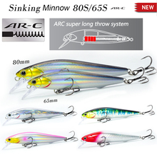 Fishing Lure Crankbait Wobbler Slow Sinking Minnow 80mm 10g Hard Bait  Artificial Long shot lures Good Action Japan High quality jerry 1pc 35mm 2 6g trout lures crankbait freshwater fishing bait ultra light micro hard lures slow sinking wobbler