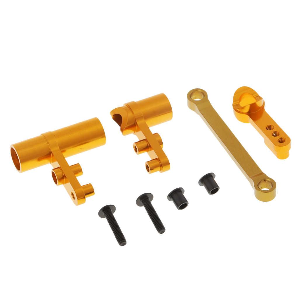 1/10 HSP RC yükseltme parçaları 102057 102040 direksiyon Servo Saver komple için HSP 94111 94123 94188