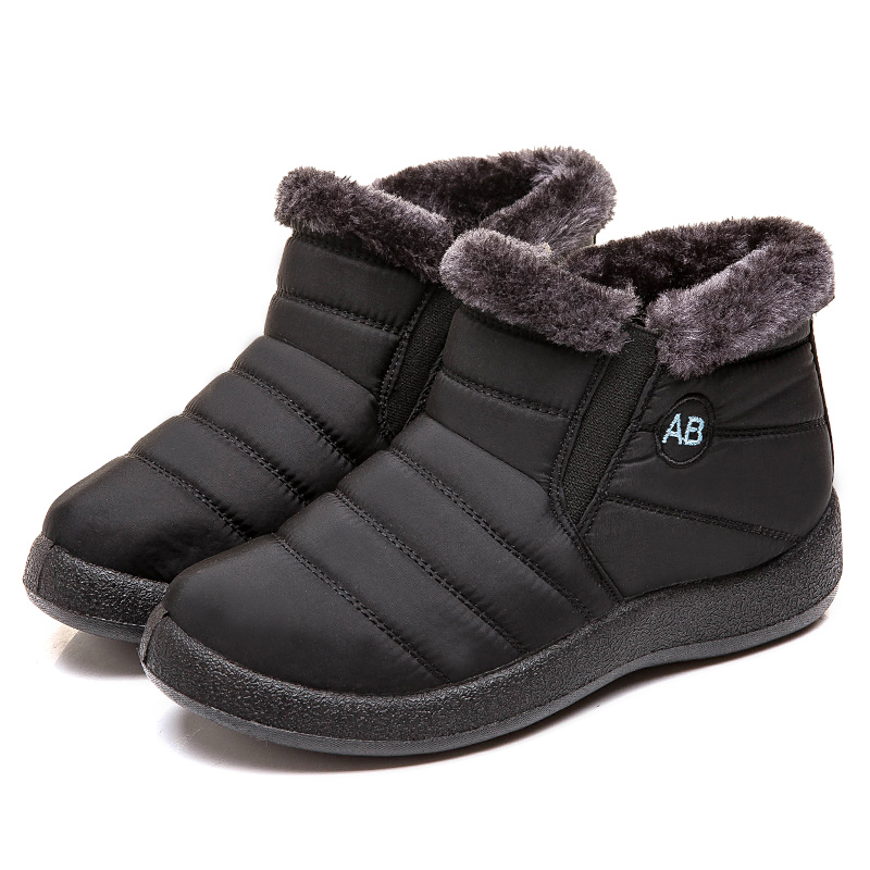Women Boots 2019 New Waterproof Snow Boots For Winter Shoes Women Casual Lightweight Ankle Botas Mujer Warm Winter Boots Female 78