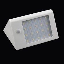 Часы дальнего света интеллектуальная энергосберегающая 20 светодиодный 3,5 Вт 440 лм Солнечная энергия лампа садовая лампа инфракрасная Индукционная яркая