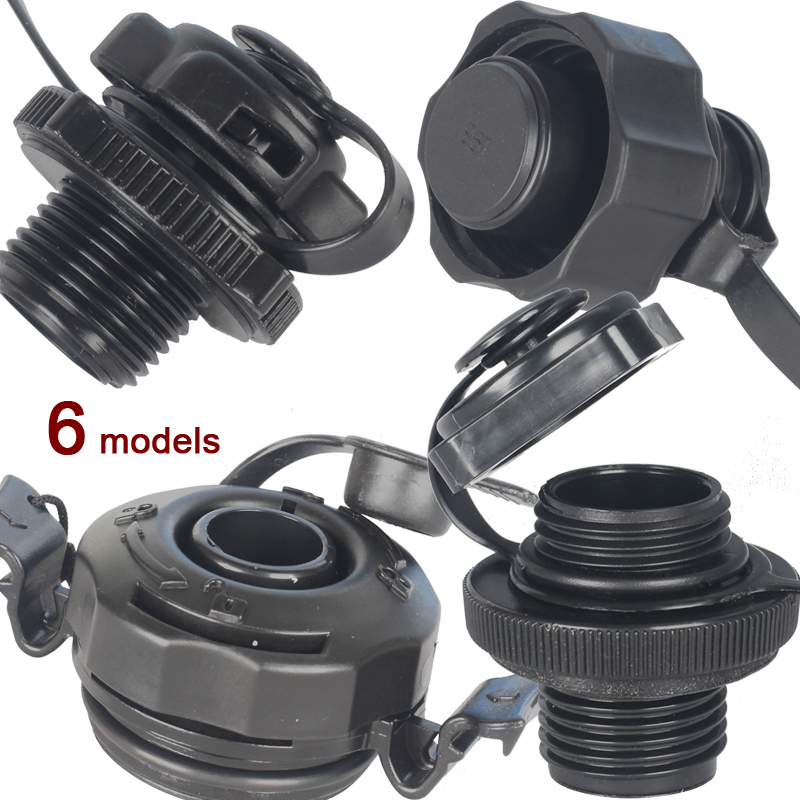 Air Valve Cap Boston Screw Valve Connector  Inflatable Boat Fishing Boat Kayak Airbed Mattress Dinghy Raft Accessory