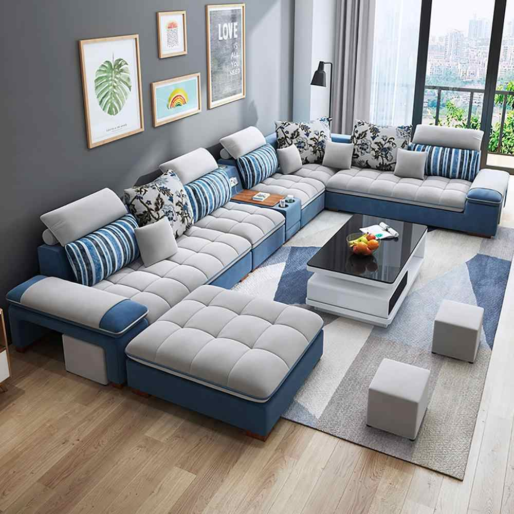 Customized high quality living room furniture living room sofa set