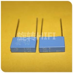 Image 1 - 20PCS NEW BC PILKOR MKP 0.01UF 275VAC P15MM blue film capacitor VISHAY X2 MKP335 103/275VAC 103 10NF 275V