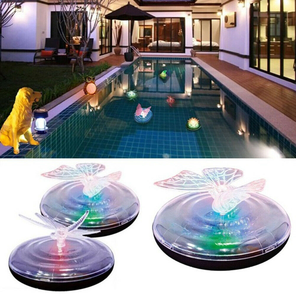 Waterproof Led Colorful Water Light Submersible Led Lights Pool Light Led Color Waterproof Water Light Solar Led Light Float