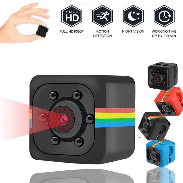 Sq11 Mini Camera HD 960P Sensor Night Vision Camcorder Motion DVR Micro Camera Sport DV Video Small Camera Cam SQ 11 with Box