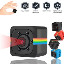 Sq11 Mini cámara HD 960P Sensor visión nocturna videocámara movimiento DVR Micro Cámara deporte DV Video cámara pequeña Cam SQ 11 con caja