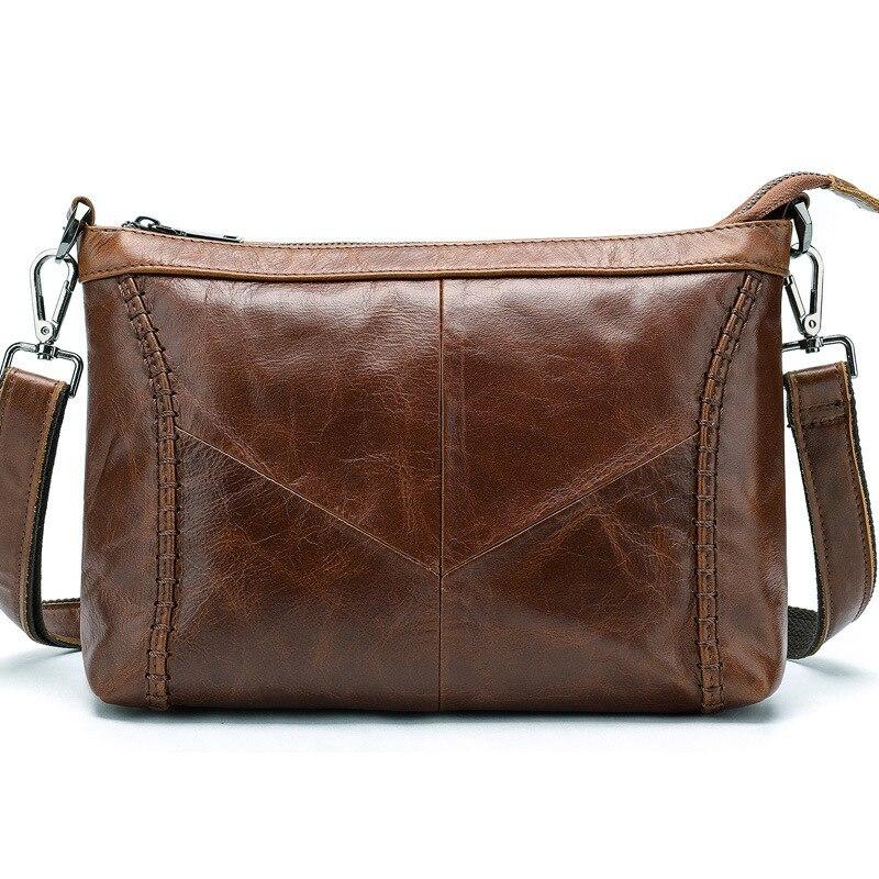 New  And American Fashion Slant Bag, Single Shoulder Bag, , Genuine Leather Bag,Women Handbags Ladies Briefcase Computer Bag