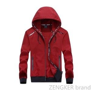 Image 2 - Big size men plus size of mens hooded cardigan cotton zipper tide oversize students coat big yards jacket men 9XL 8XL