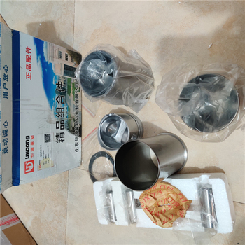 Laidong KM385BT complete piston and sleeve set, including piston, piston ring, cylinder liner, piston pin and circlip фото