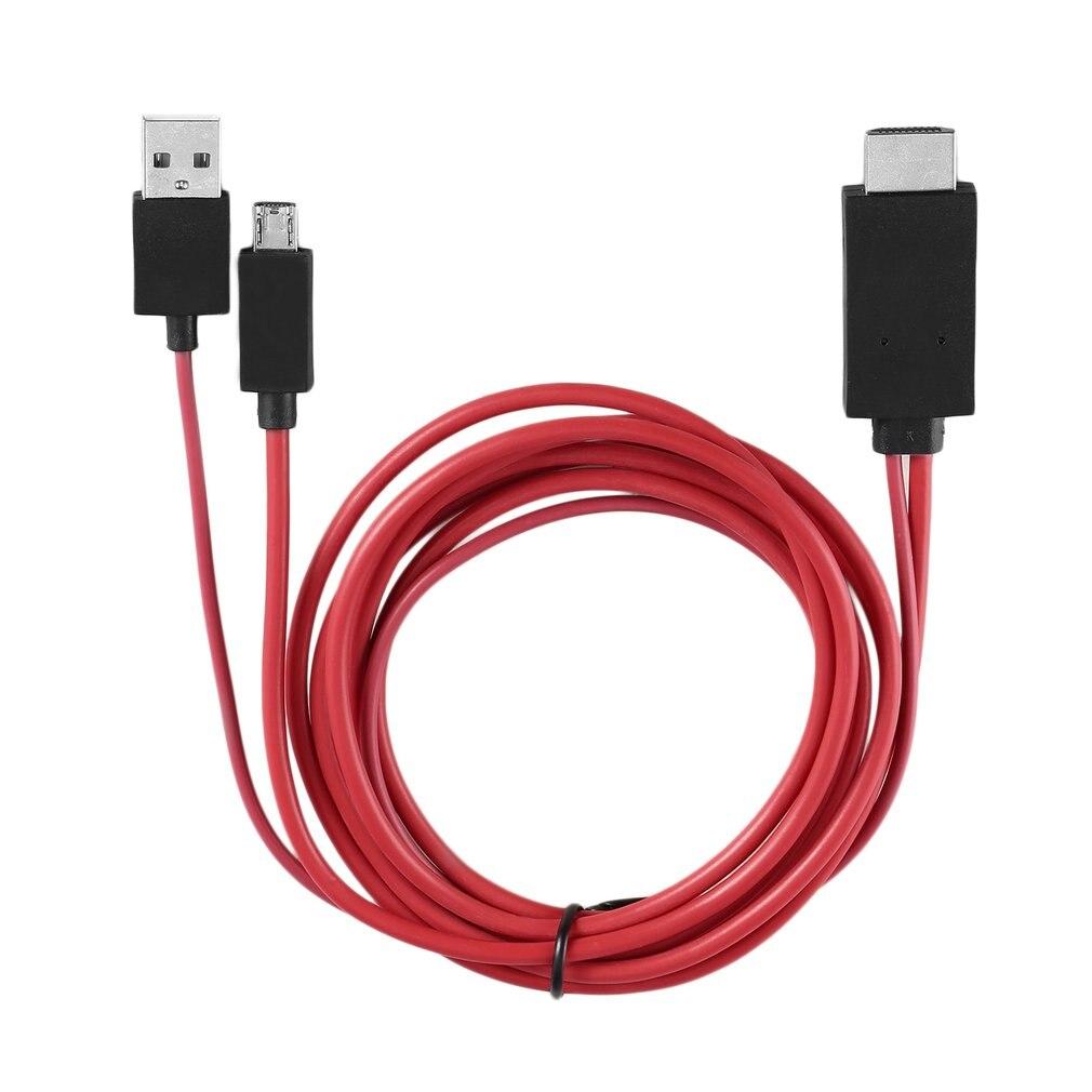 Micro USB к HDMI кабель 1080P MHL HDTV кабель адаптер конвертер для Samsung Huawei Sony HTC LG