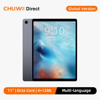 CHUWI HiPad Plus 11 Cal 2176*1600 rozdzielczość MT8183V procesor Octa Core Android 10 OS 4GB RAM 128GB Tablet ROM 2 4G 5G WiFi tanie i dobre opinie Android 10 0 CN (pochodzenie) ultra cienkie Z dwiema kamerami Karty tf Dock TYPE-C 128 gb Ramię english Rosyjski Spanish