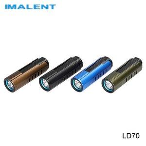 Imalent LD70 Cree XHP70 2nd светодиодный фонарик 18350 батарея высокой мощности прожектор Магнитный USB Перезаряжаемый уличный фонарь
