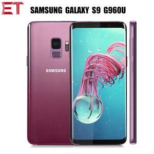 Samsung Galaxy S9 G960U смартфон с 5,8-дюймовым дисплеем, процессором Snapdragon 845, ОЗУ 4 Гб, ПЗУ 64 ГБ, 1440x2960p