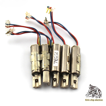 10 sztuk partia wibracji 415 Hollow Cup silnik silnik wibracyjny silnik ekscentryczny koła 3v Micro DC DIY silnik wibracyjny tanie i dobre opinie