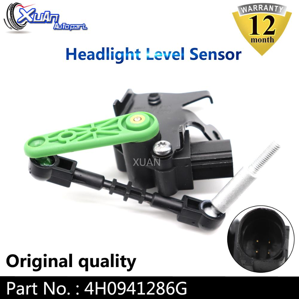 Xuan High Quality Automobile <font><b>Headlight</b></font> Level Sensor 4H0941286G For <font><b>Audi</b></font> A6 A7 <font><b>A8</b></font> S6 S8 RS7 quattro L 4H 3.0 TFSI image