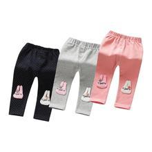 Хлопковые детские колготки высокого качества, детские штаны эластичные теплые леггинсы длиной до щиколотки для мальчиков и девочек повседневные леггинсы для малышей от 0 до 24 месяцев