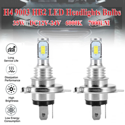 SUHU H4 6000k 7000LM 9003 HB2 SUPER WHITE CSP LED Headlights Bulbs Kit High Low Beam Canbus LED Auto Fog Lights Car Accessories