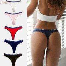 Calcinha para mulher sem costura conjunto sólido invisível cueca sexy cintura baixa cuecas femininas lingerie dropship 3 pçs
