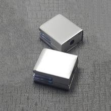 Clips de abrazadera de acero inoxidable 304 de alta calidad para estantes de vidrio de 8-10mm soportes de soporte de abrazadera de madera acrílica accesorios