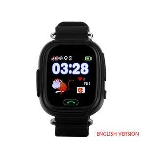 Image 5 - Q90 GPS çocuk akıllı saat bebek anti kayıp kol SOS çağrı konumu cihaz Tracker Smartwatch