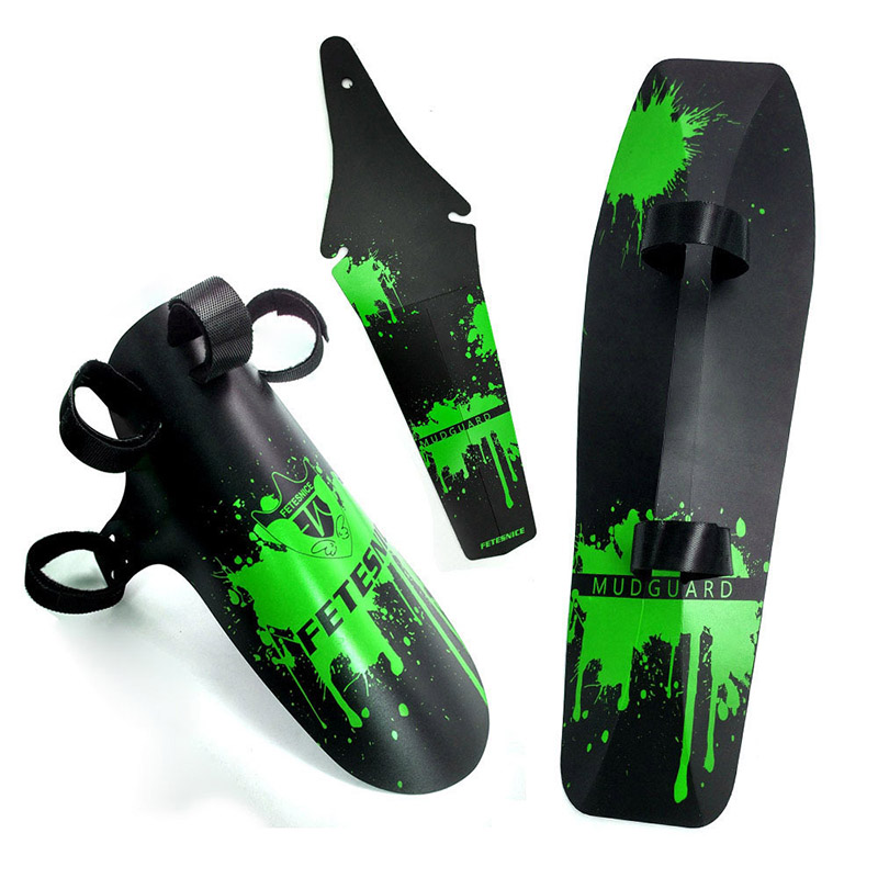 Mountain Bike Fenders MTB Road Bike Mud Flaps Cycling Bicycle Wings Front Bicycle Mudguard For Bicycle Fender