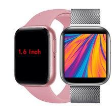 P80s Смарт-часы сердечного ритма крови Давление Фитнес трекер smartwatch 2020 звонить и отвечать на подходит для ответа на звонки и изготовленный на ...