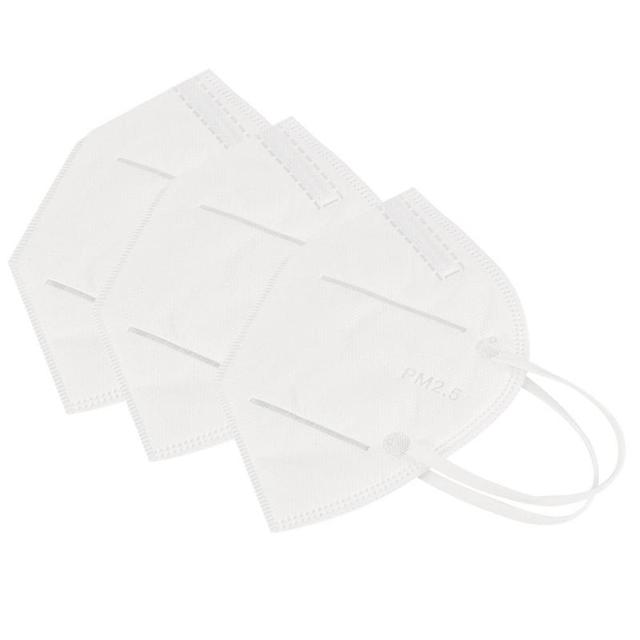 5/10/20 PCS KN95 Masks Five-Layers Protection Dustproof Anti-fog Breathable N95 Face Masks 95% Filtration Features Mask FFP3 3