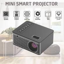 UNIC UC26 мини-проектор с поддержкой 1080P Full HD lcd светодиодный проектор для домашнего кинотеатра 600 люмен наружный домашний HDMI/USB/AV