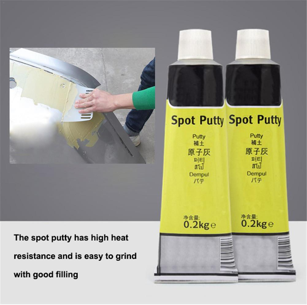 200G Auto Car Body Repair Putty Scratch Filler Painting Assistant Smooth Repair Tool Quick-drying Paint Care Auto Accessories