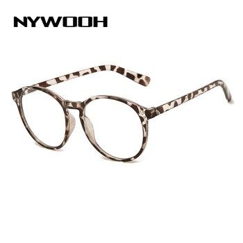 Finished Myopia Glasses Men Vintage Round Eyeglasses for Women Retro Shortsighted Eyeglass Prescription -1.0 1.5 2.0 2.5 to -6.0