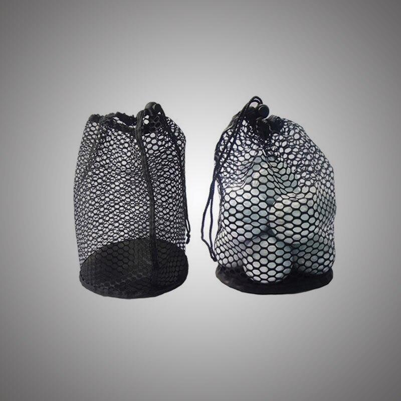 Fashionable Bag Pouch Golf Ball Bag Sports Bag With Bottom Mesh Ball Storage Bag W/Bottom Balls Holder