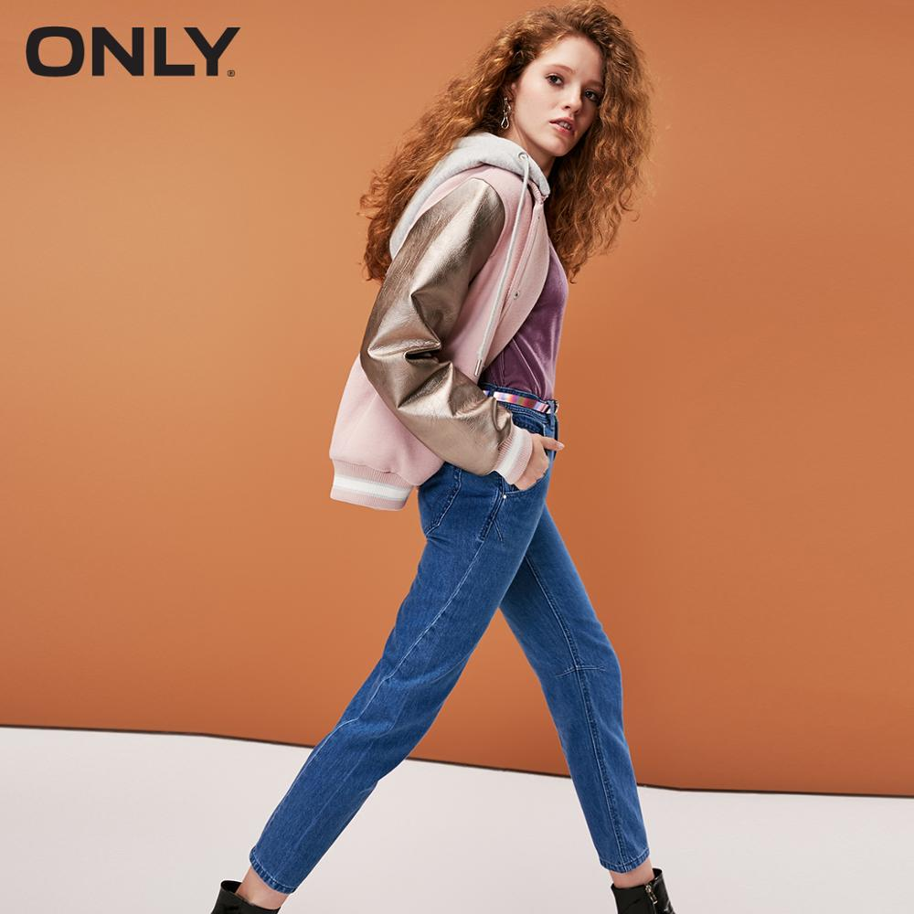 ONLY Women's Summer New Boyfriend Straight Cropped Jeans  |  118349644