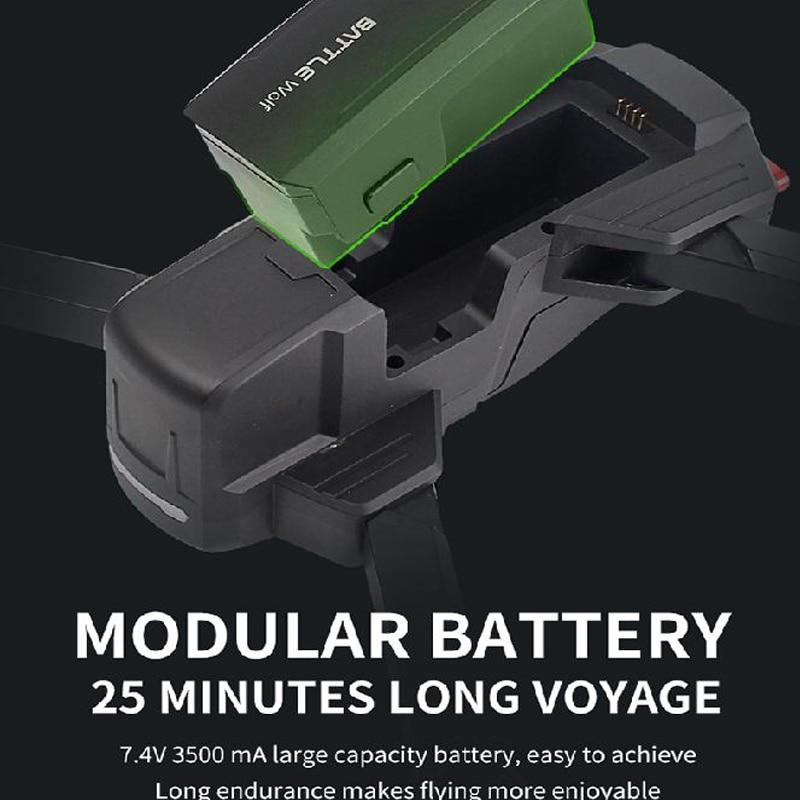 Дрон 4k HD 1080P wifi fpv низкая батарея самовозвратный бесщеточный двигатель оптический поток hover Квадрокоптер Дрон камера Дрон GPS квадрокоптер с к... - 5