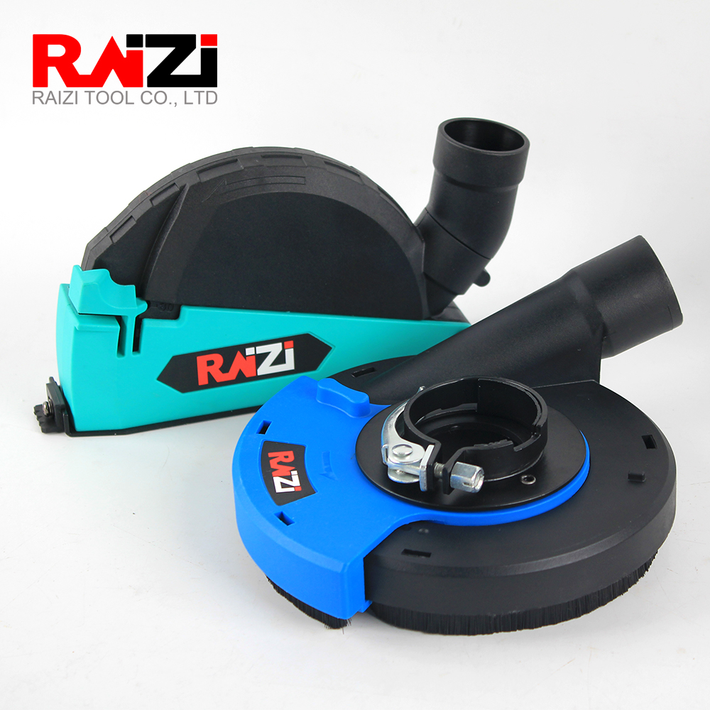 Raizi 2 Pcs Universal Dust Shroud Cover Kit For Dry Cutting And Grinding 5 Inch/125 Mm Angle Grinder Shroud Cover Tool