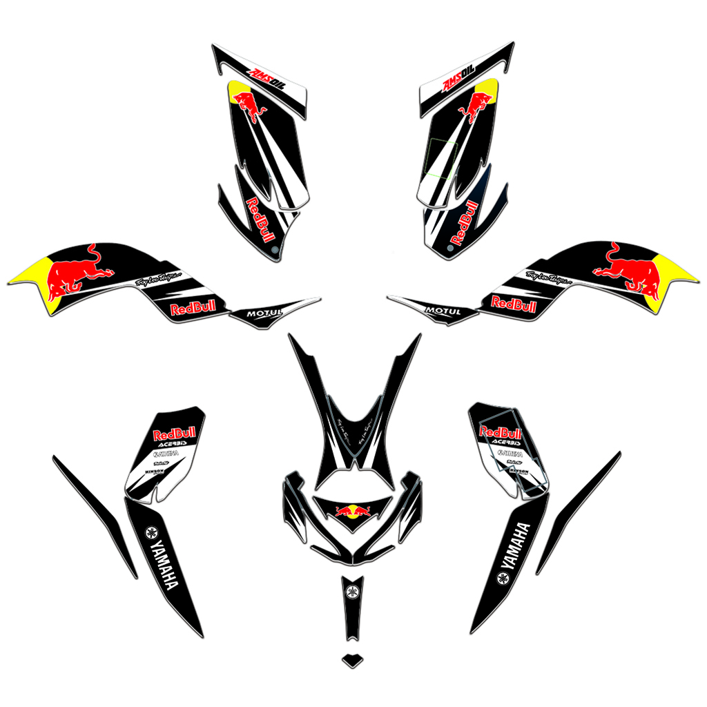 MXGRAPHIC ATV Team Decals Stickers Graphic DECO Kit For Yamaha RAPTOR 700 700R 2013 2014 2015