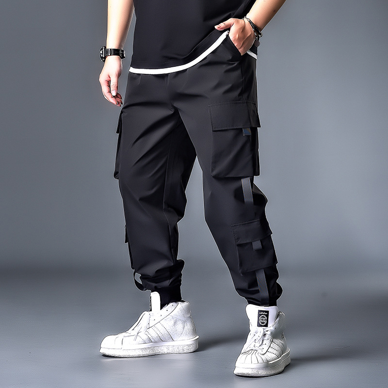 7XL 6XL 5XL XXXXL Pockets Cargo Harem Pants Mens Casual Joggers Baggy Tactical Trousers Harajuku Streetwear Hip Hop Fashion Swag
