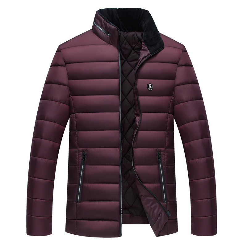 Nice Pop Fashion Jackets Men Parka Hot Tide Quality Autumn Winter Warm Outwear Slim Mens Coats VogueWindbreak Jackets Men