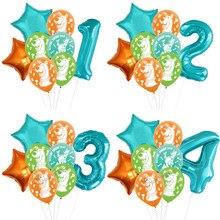 Scooby doo balões scooby fontes de festa de aniversário do chuveiro do bebê decorações globos crianças brinquedos do chuveiro do bebê suprimentos