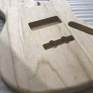 Image 3 - 未完エレキギター本体木材空白ギターバレルjbスタイルエレキギターdiyパーツ