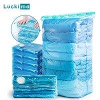Vakuum Beutel Kleidung Quilt Lagerung Taschen Hand Druck Platzsparend Dichtung Paket Kleidung Kompression Veranstalter für Home Reise