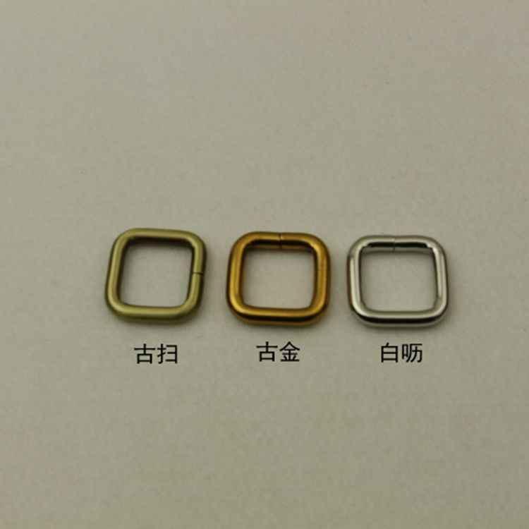 10 個あたりロットサイズ 2.0 センチメートルオンラインショップ中国卸売アクセサリー作るベルトバックル合金長方形リングファッションボタン