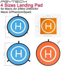 PGYTECH Foldable Landing Pad For DJI Mavic Air 2/Mini 2 Fast Fold Parking Apron Pad For Mavic 2/Spark/Phantom Drone Accessories