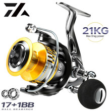 2021 TOP10 All-Metal Freshwater And Seawater Dual Use Fishing Reel Big Pulling Drag Spinning Reel Durable Carp Fishing Saltwater