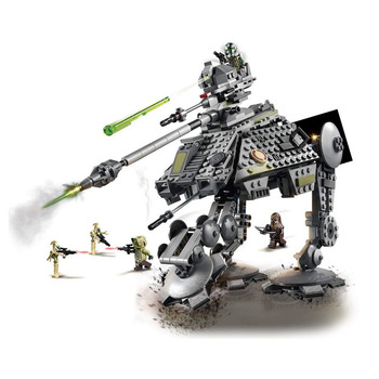 цены Imperial AT AP Clone Scout Walker Battle Droid star wars Droid Gunship building block children toy Chewbacca weapon figures