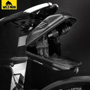 Image 5 - NEWBOLER 1.5L de shell duro del sillín de bicicleta bolsa impermeable Alforjas para bicicleta MTB trasera de bicicleta, bolsa noche reflectante accesorios de bicicleta
