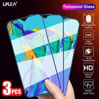 Protector de pantalla de vidrio templado para móvil, película para Huawei P30 Lite P40 P20 Mate 30 2010 Pro, Nova 5T P Smart 2019 Y5 Y6 Y7 Y9 Prime, 3 uds.