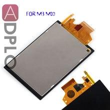 ADPLO شاشة الكريستال السائل شاشة لكانون EOS M3 M10 كاميرا رقمية إصلاح الجزء + الخلفية + اللمس