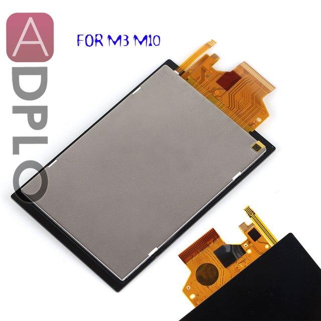 ADPLO LCD תצוגת מסך עבור Canon עבור EOS M3 M10 דיגיטלי מצלמה תיקון חלק + תאורה אחורית + מגע